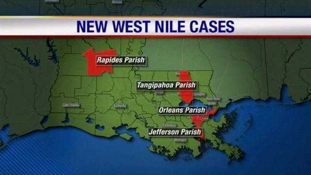 New West Nile Cases In Southeast Louisiana