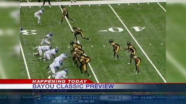 Southern and Grambling State Universities will face-off Saturday in the Superdome.