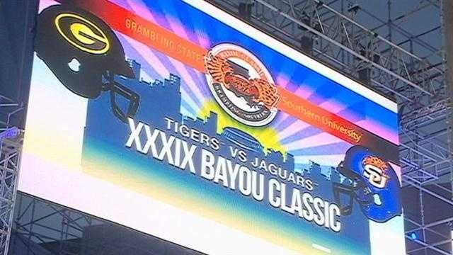 New Orleans prepares for the Bayou Classic football game