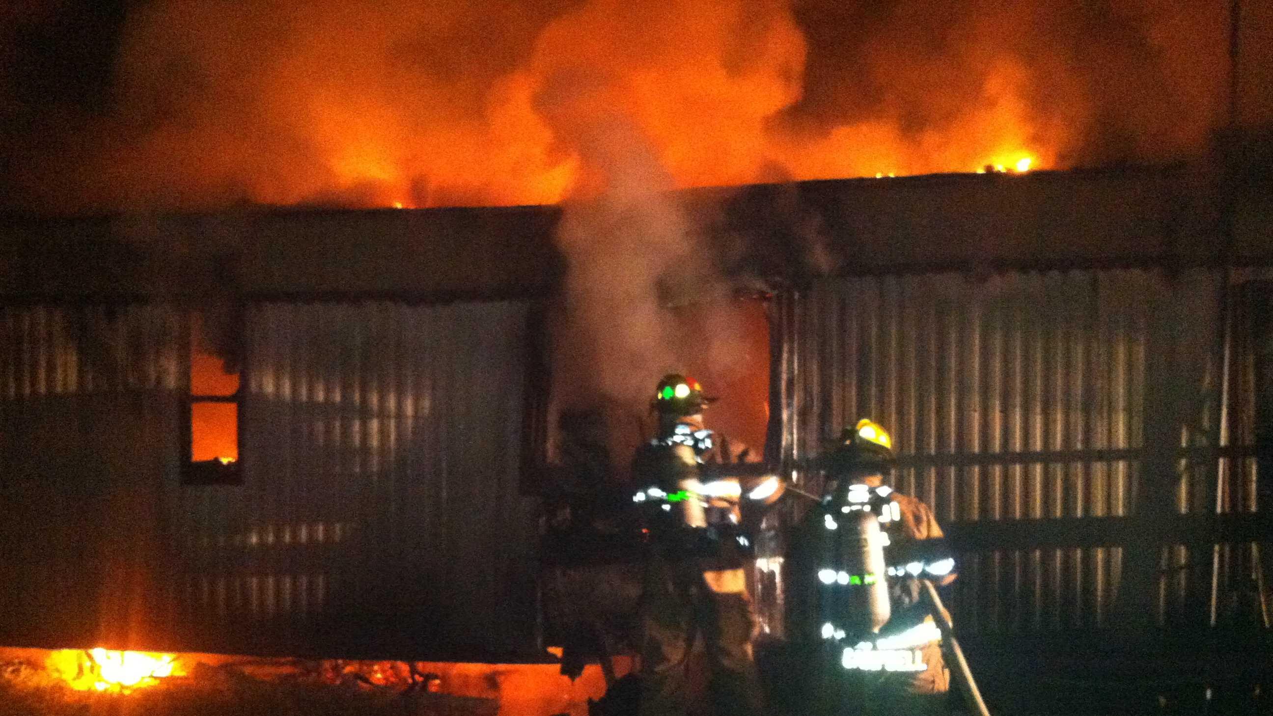 Nov 28 mobilhome fire in slidell