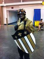 A Who Dat version of Captain America.