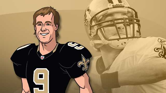 Drew Brees: NFL Rush Season of the Guardians