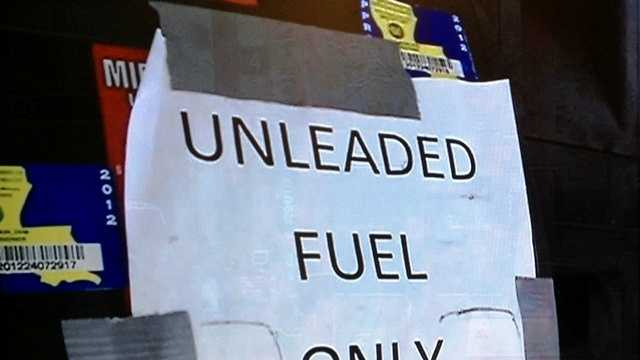 Customers reported problems with their vehicles after filling up at a Larose truck stop.