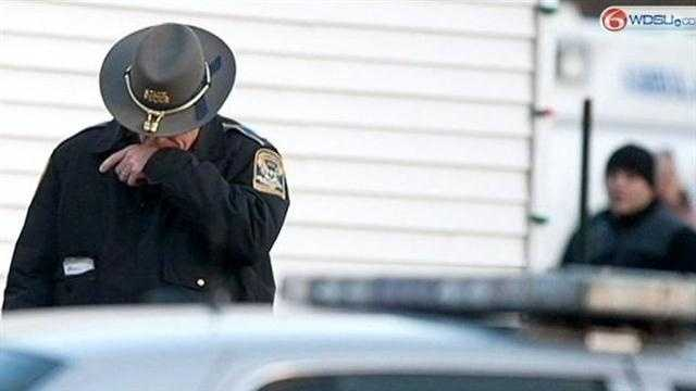 Experts say the first people on the scene of the Connecticut massacre might struggle with flashbacks and sleep disturbances. They say it's important they talk about their problems.