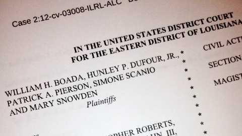 Jefferson Parish Housing Authority board members sue