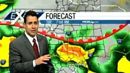 Strong storms set to follow Santa to southeast Louisiana