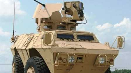 Textron armored vechicle