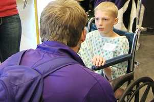 For players and patients alike, the visit will be a memory that lasts a lifetime.