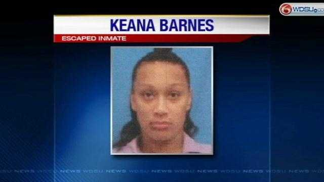 New information about escaped female inmate