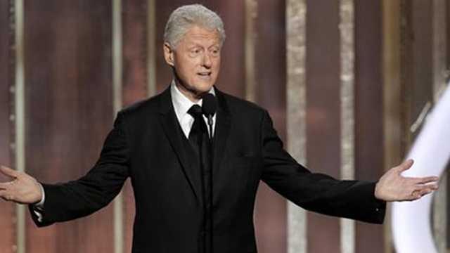 Bill Clinton at Golden