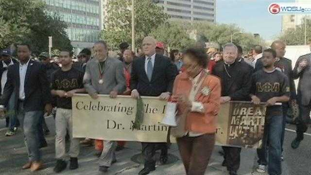 New Orleans celebrates Martin Luther King, Jr. Day