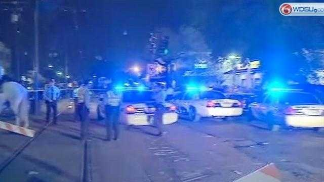 Officers make gun arrests along parade route