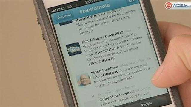 Mayor uses social media to welcome Super Bowl visitors