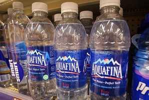 30,000 bottles of water