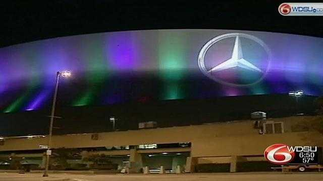 The Mercedes Benz Super Dome