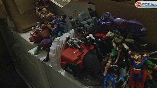 Money or memories? Toy box treasures can rake in cash