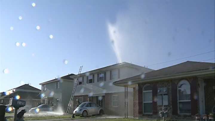 Chalmette apartment fire