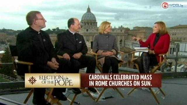 Local Catholic leader talks about American Pope