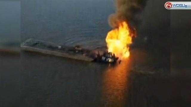 La. pipeline blaze could burn until Thursday