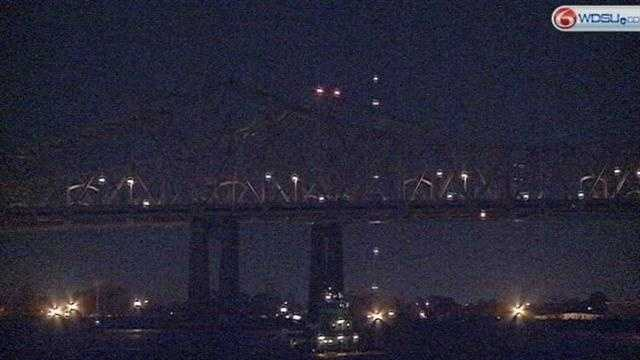The Young Leadership Council worked to get the lights on the bridge say the state is making a mistake by not turning the lights on.