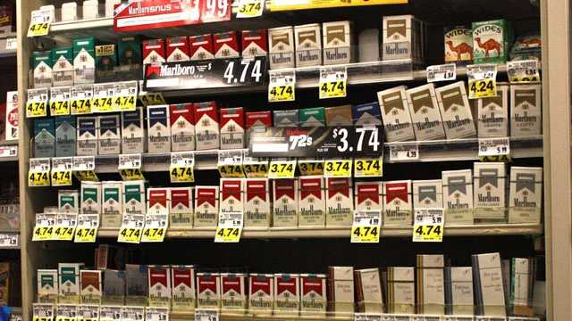Cigarette sales