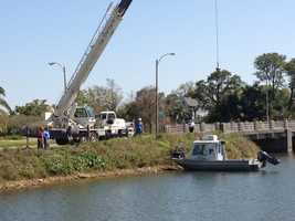 Equusearch continues search for a missing teacher in Bayou St. John Tuesday morning.
