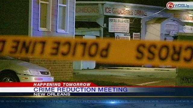 Mayor to hold Community Meeting on crime reduction Monday