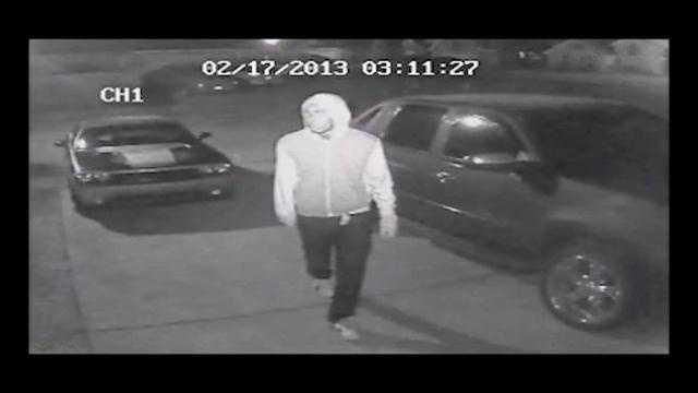 Raw video: Slidell burglary suspect caught on camera, police say