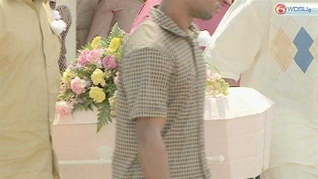 2-year-old Darionne Taylor was laid to rest on Saturday after she reportedly died at the hands of her mother's boyfriend.