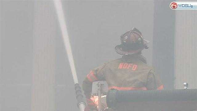 Eight people displaced by Treme fire