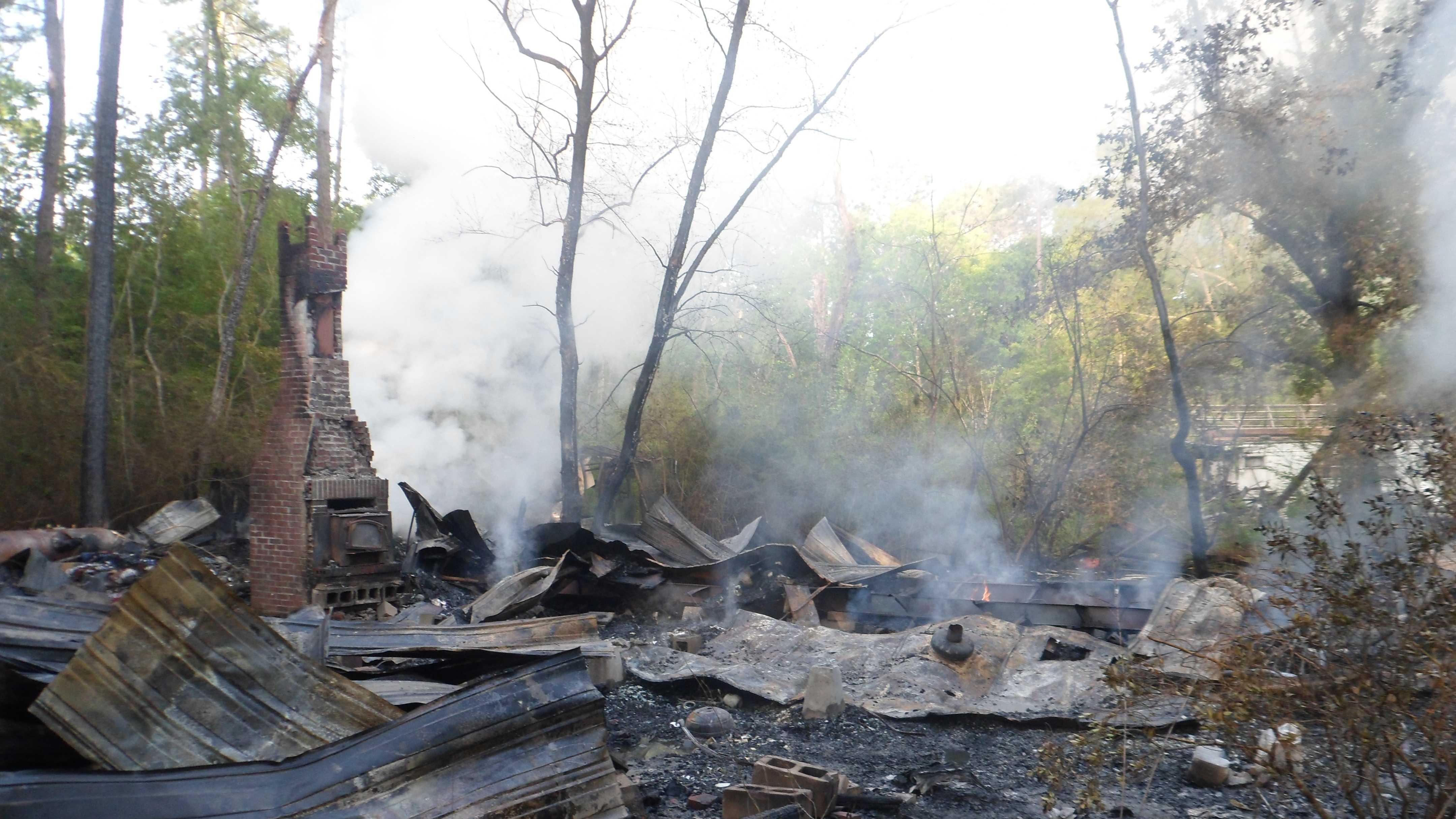 Slidell mobule home fire