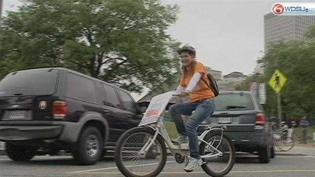 Cyclists hit road for second annual NOLA Bike to Work Day