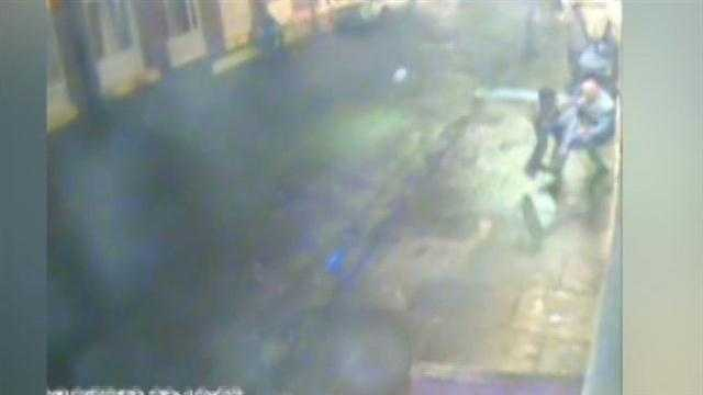 Raw Video: French Quarter incident