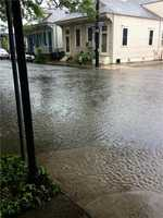 Chartres and Mandeville streets in Marigny
