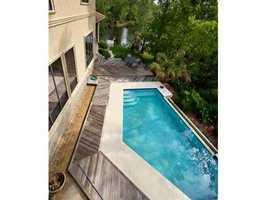 Swimming pool, hot tub