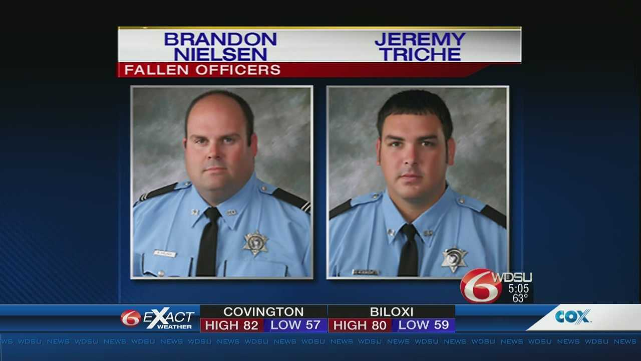 Officers killed in the line of duty across Louisiana will be honored in a memorial ceremony Wednesday night at Lake Lawn Cemetery in Metairie
