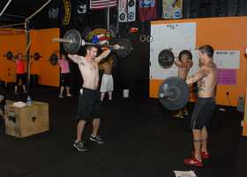 Cross Fit No Surrender holds a fund raiser for breast cancer in Covington.