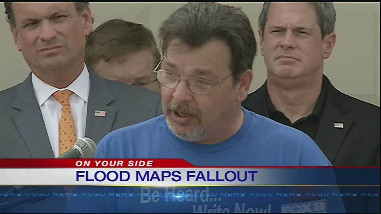 New FEMA flood maps could force residents out of their homes.