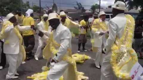 Mother's Day second line re-do held Saturday