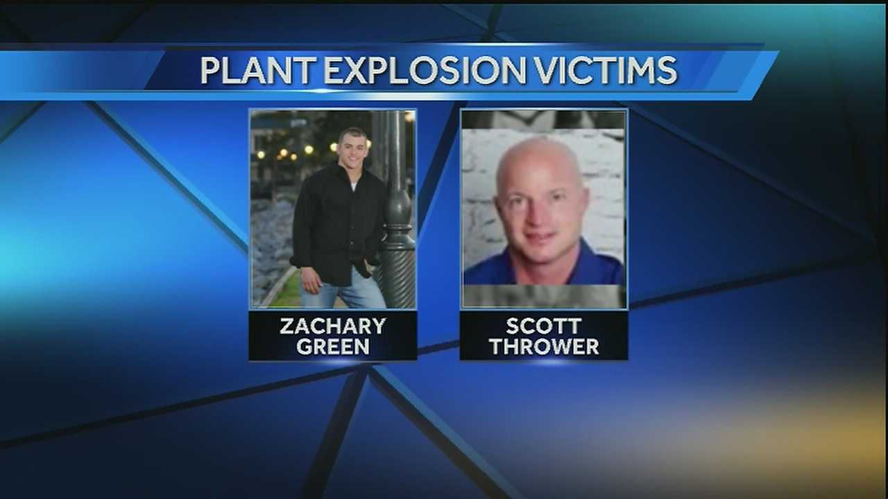 2 killed in Thursday explosion at Geismar plant