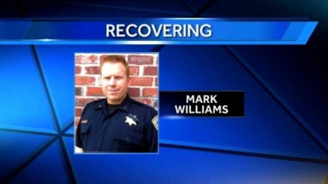 Dep. Mark Williams recovering