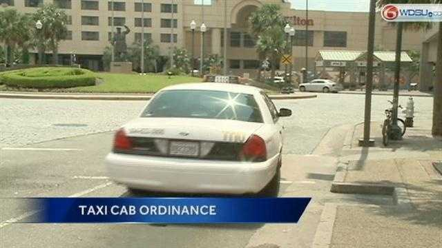 New taxi cab ordinance