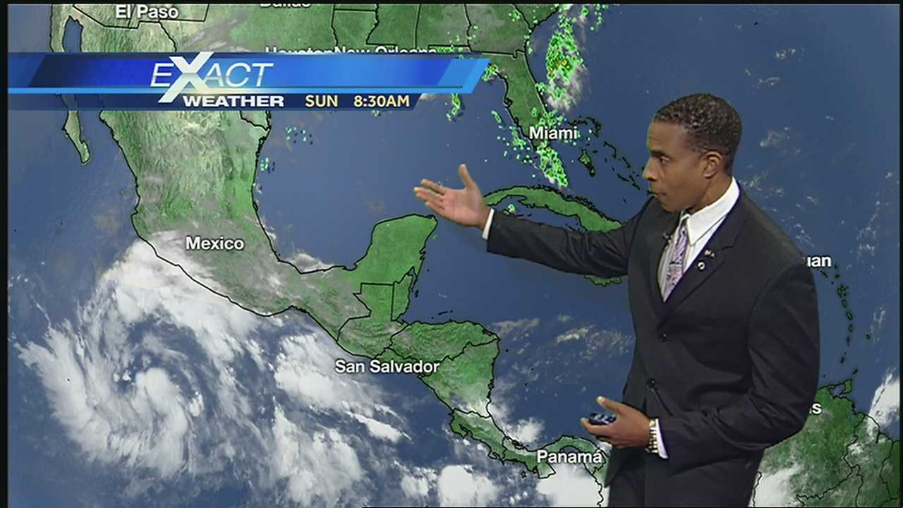Here's the latest on the tropics from WDSU Exact Weather Meteorologist Damon Singleton.
