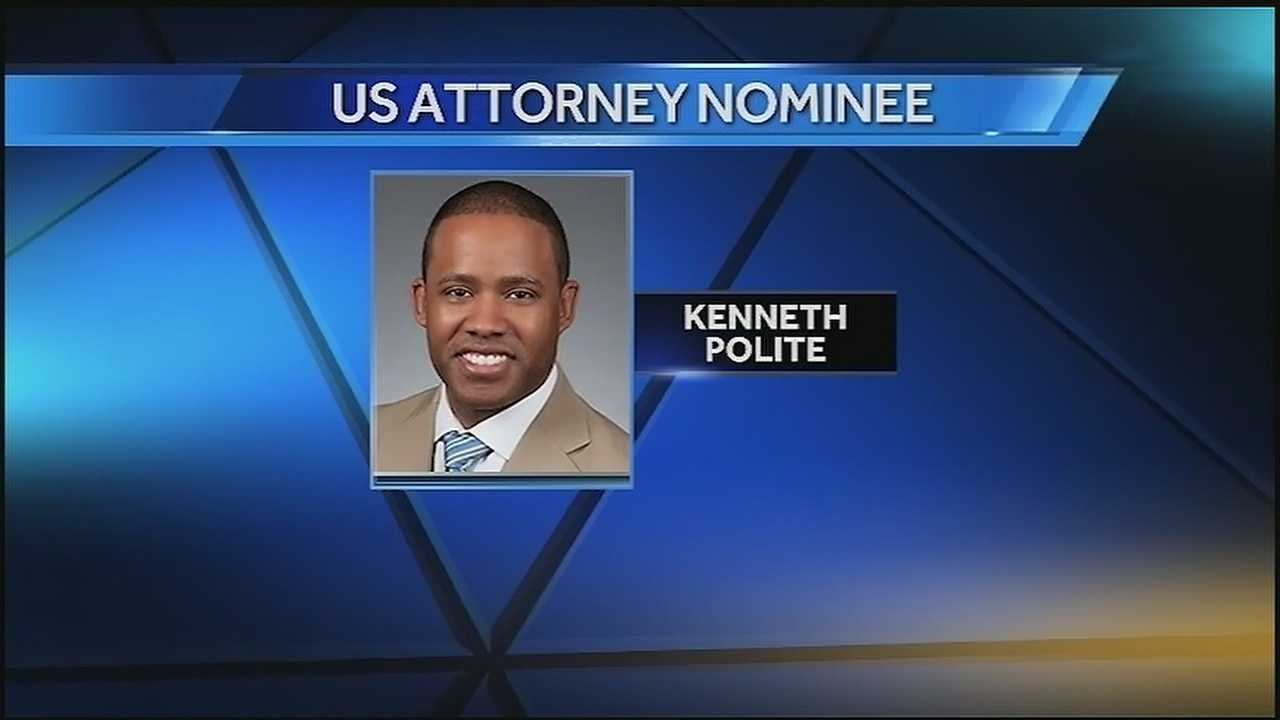 U.S. Attoney nominee Kenneth Polite