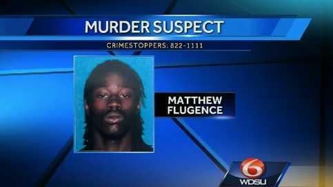 Matthew Flugence, murder suspect