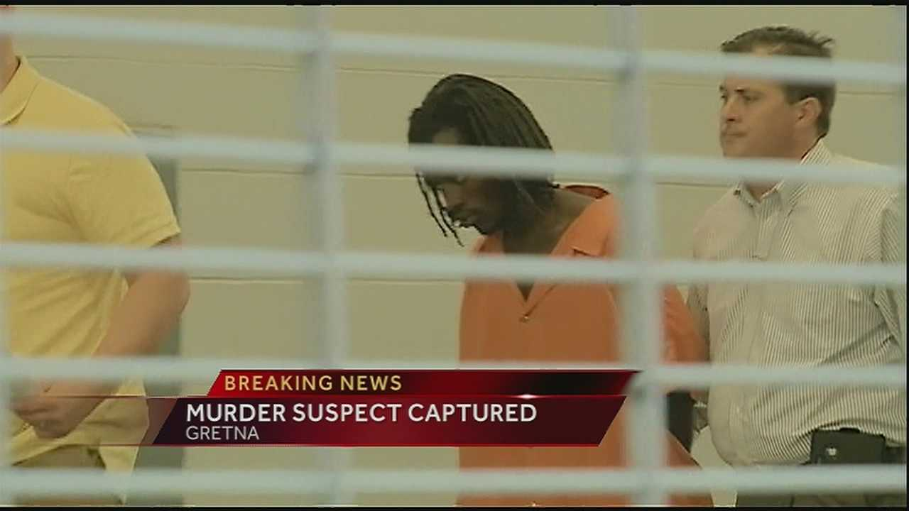 Matthew Flugence, the suspect in the murder of 6-year-old Ahlittia North, was arrested late Tuesday night in Westwego.