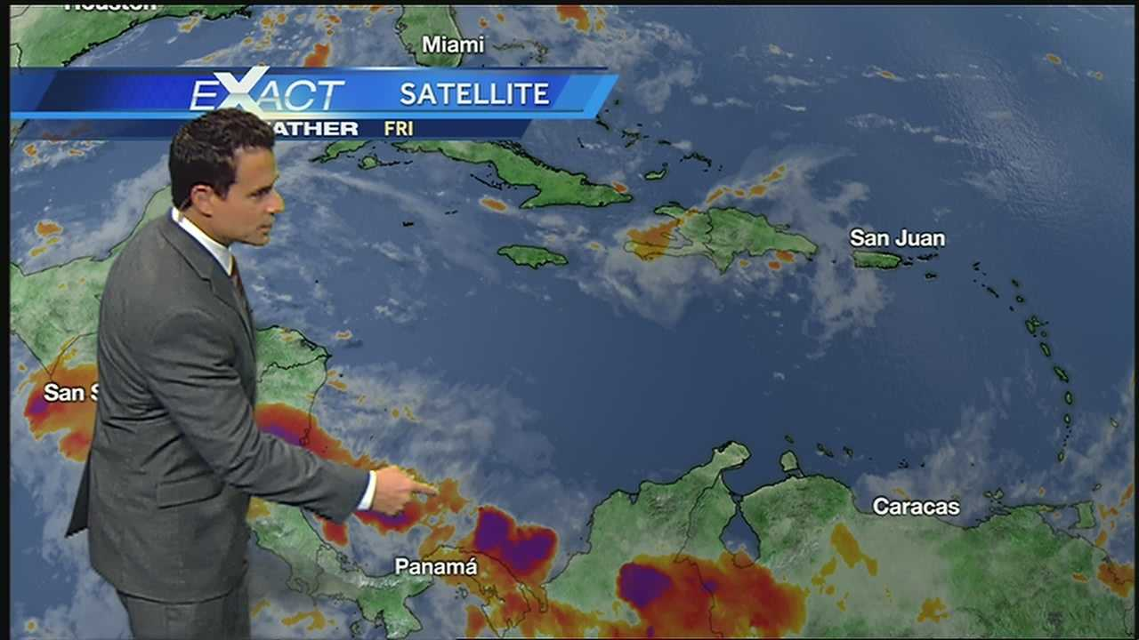 WDSU Exact Weather meteorologist Jay Galle has the latest on the tropical weather.