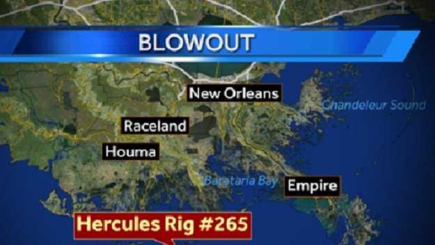 Hercules Rig 265 map