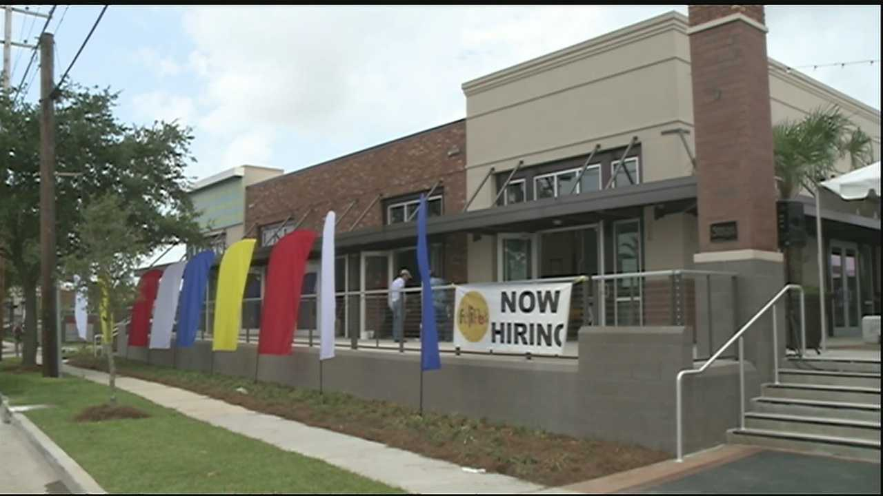 Many restaurants and retail stores have opened up at the corner of North Carrollton and Bienville.