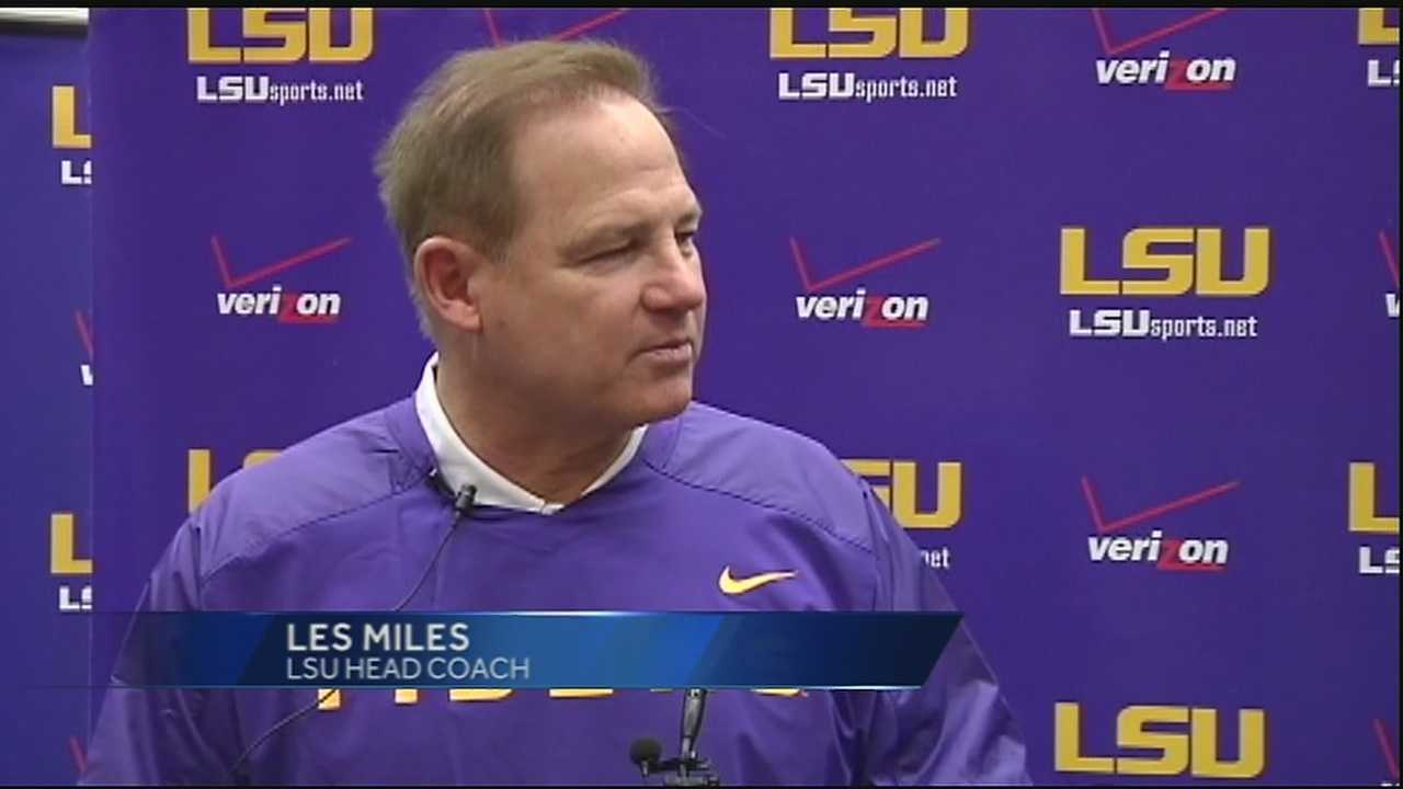 LSU football players report to campus for Fall Camp